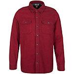 CONVERSE Static Flannel Langarmhemd Herren rot