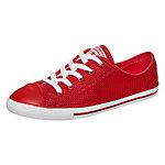 CONVERSE Chuck Taylor All Star Dainty Sneaker Damen rot / weiß
