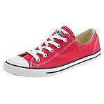 CONVERSE Chuck Taylor All Star Dainty OX Sneaker Damen rot / weiß
