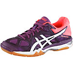 ASICS Gel-Tactic Volleyballschuhe Damen bordeaux/neonorange