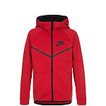 Nike Tech Fleece Windrunner Trainingsjacke Kinder rot / schwarz