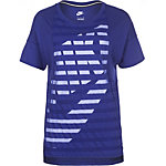 Nike Striped T-Shirt Damen blau