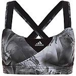 adidas Supernova Graphic Sport-BH Damen schwarz / grau
