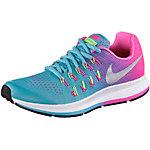 Nike Zoom Pegasus Laufschuhe Mädchen blau/pink
