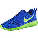 Nike Roshe One Flight Weight Sneaker Jungen blau/grün