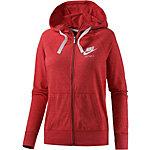 Nike Sweatjacke Damen rot/melange