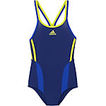 adidas Badeanzug Mädchen dunkelblau/gelb