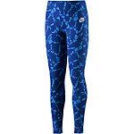 Nike LGGMG Tights Mädchen blau