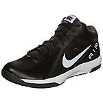 Nike The Air Overplay IX Basketballschuhe Herren schwarz / weiß