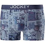 Jockey Boxer Herren blau