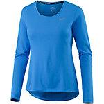 Nike Dri-Fit Contour Laufshirt Damen blau