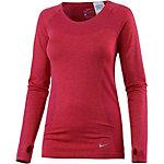 Nike Dri-Fit Knit Laufshirt Damen rot