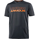 Under Armour HeatGear Raid Funktionsshirt Herren anthrazit
