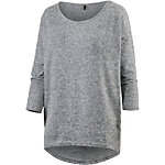 Only Elcos Strickpullover Damen anthrazit melange