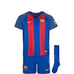 Nike FC Barcelona Minikit Home Stadium Fußballtrikot Kinder blau / rot / gold