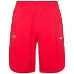 Nike Elite Liftoff Basketball-Shorts Herren rot / schwarz