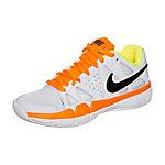 Nike Air Vapor Advantage Carpet Tennisschuhe Kinder weiß / neonorange