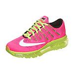 Nike Air Max 2016 Laufschuhe Kinder pink / neongelb