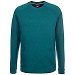 Nike Tech Fleece Crew Sweatshirt Herren dunkelgrün