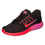 Nike Lunarglide 8 Laufschuhe Damen schwarz / rot / pink