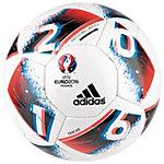 adidas Euro 2016 Hardground Fracas Fußball weiß / blau / rot