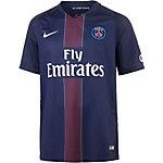 Nike Paris Saint-Germain 16/17 Heim Fußballtrikot Herren dunkelblau/schwarz