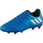 adidas MESSI 16.3 FG J Fußballschuhe Kinder blau/silber