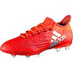 adidas X 16.2 FG Fußballschuhe Herren rot/silber