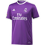 adidas Real Madrid 16/17 Auswärts Fußballtrikot Herren lila