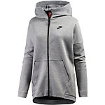 Nike Tech Fleece Kapuzenjacke Damen dunkelgrau