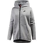 Nike Tech Fleece Kapuzenjacke Damen dunkelgrau