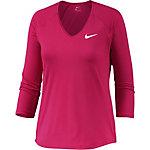 Nike Pure Tennisshirt Damen pink