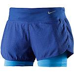 Nike Rival Jaquard Laufshorts Damen blau