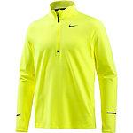 Nike Dri-Fit Element Laufshirt Herren gelb