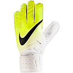 Nike Match Torwarthandschuhe Kinder weiß/gelb