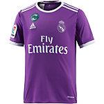 adidas Real Madrid 16/17 Auswärts Fußballtrikot Kinder lila