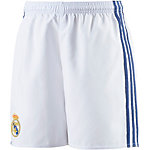adidas Real Madrid 16/17 Heim Fußballshorts Kinder weiß