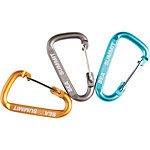 Sea to Summit Karabiner 3 Pack Karabiner grau/blau/orange