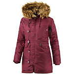 Alpha Industries N3B VF 59 Parka Damen bordeaux