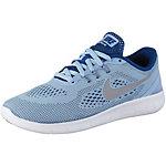 Nike Free Laufschuhe Mädchen hellblau