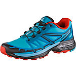 Salomon WINGS PRO 2 Laufschuhe Damen hellblau/orange