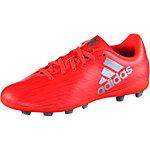 adidas X 16.4 FxG J Fußballschuhe Kinder rot/silber