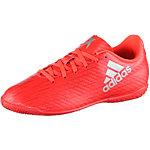 adidas X 16.4 IN J Fußballschuhe Kinder rot/silber