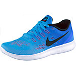 Nike Free RN Laufschuhe Damen blau/orange