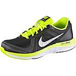 Nike Dual Fusion X 2 Laufschuhe Jungen schwarz/grün