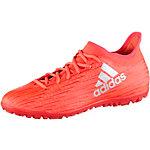 adidas X 16.3 TF Fußballschuhe Herren rot/silber