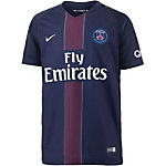 Nike Paris Saint-Germain 16/17 Heim Fußballtrikot Kinder dunkelblau/schwarz
