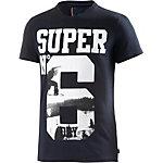 Superdry T-Shirt Herren schwarz
