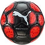 PUMA evo SPEED mini Fußball schwarz/rot