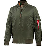 Alpha Industries VF 59 Long Bomberjacke Herren oliv